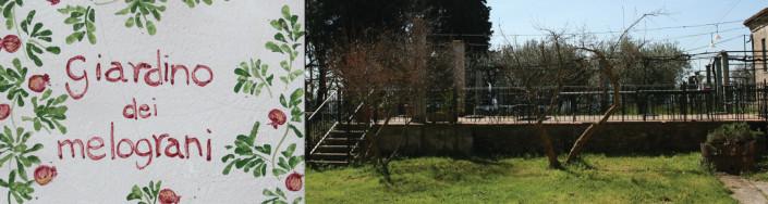 Il giardino dei melograni, all'ex Convento Sant'Andrea